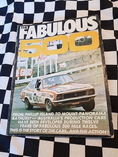 The Fabulous 500 (1972) magazine Phillip Island to Bathurst