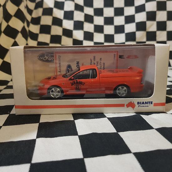 Biante 1:43 Code 3 Jack Daniels BA XR8 Falcon Utility Orange