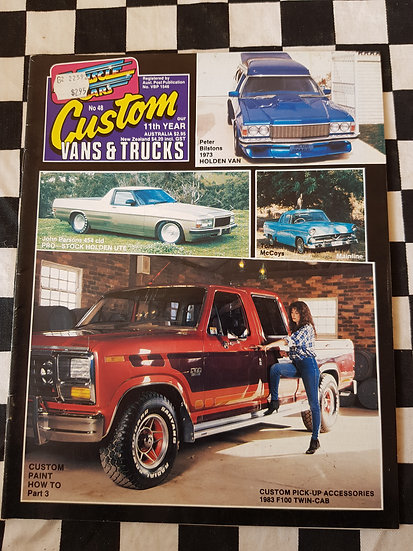 CUSTOM VANS & TRUCKS magazine #48