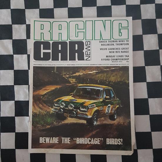 Racing Car News 3/73 Escort