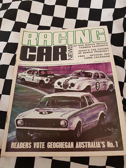 RACING CAR NEWS 1/71 Geoghegan