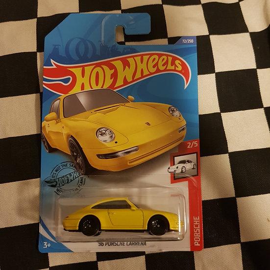 Hot Wheels 2020 Porsche Series 96 Porsche Carrera Yellow