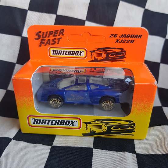 Matchbox Superfast 1993 Boxed Jaguar XJ220