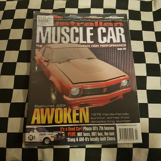 Australian Muscle Car Magazine #107