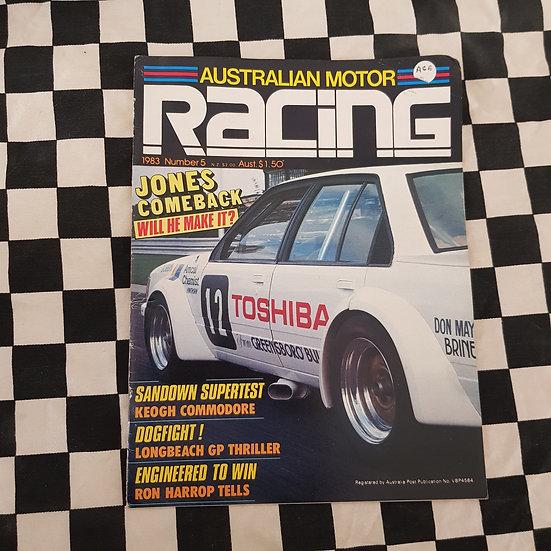 Australian Motor Racing #5 1983