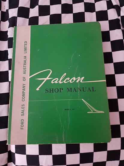 Ford Falcon XP Genuine Factory Workshop Manual AMAZING CONDITION