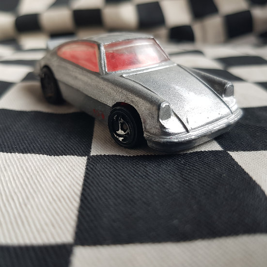 Vintage Loose Hot Wheels Porsche Carrera Silver