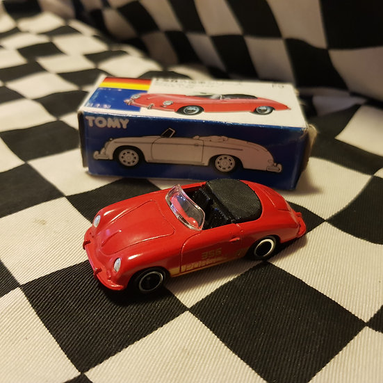 Tomica Boxed F9 Porsche 356 Speedster Red