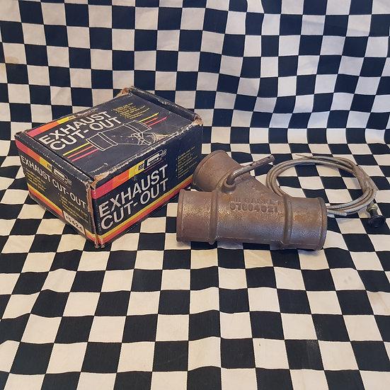 Original NOS Mr Gasket  Exhaust Cut Out Hot Rod Custom