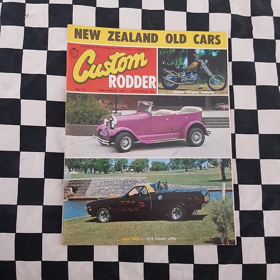 Custom Rodder Magazine #21