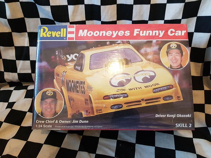 Revell Mooneyes Funny Car Plastic Model Kit Moon Dragster
