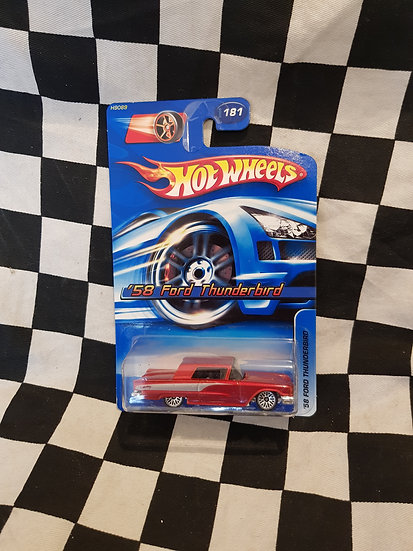 Hot Wheels 2006 58 Ford Thunderbird