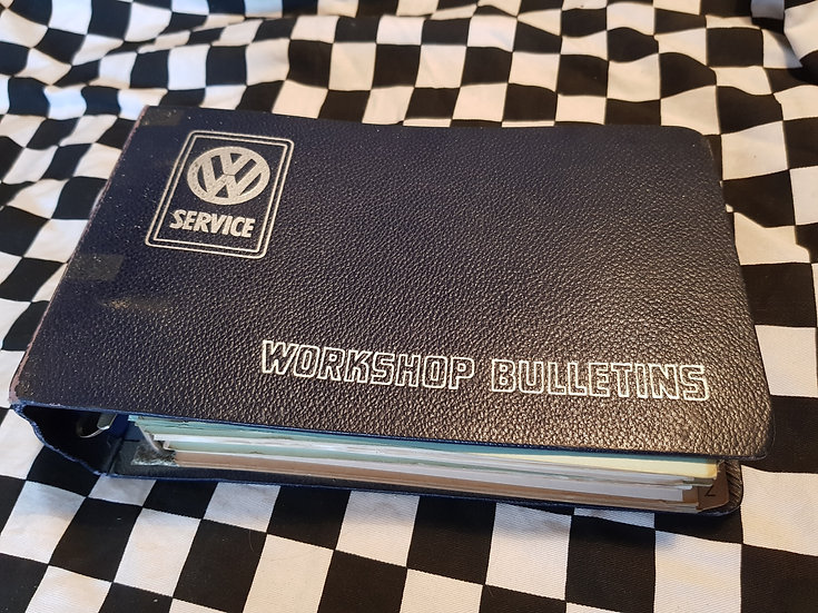 Vw Volkswagen Service Workshop Bulletins Type 1,2,3,4,122