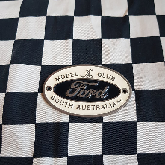 Ford Model A Club of South Australia Plaque/Badge