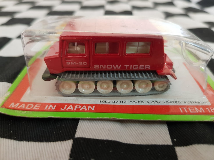 Tomica Snow Tiger