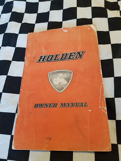 Holden FE Owner Manual