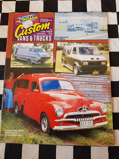 CUSTOM VANS & TRUCKS magazine #50