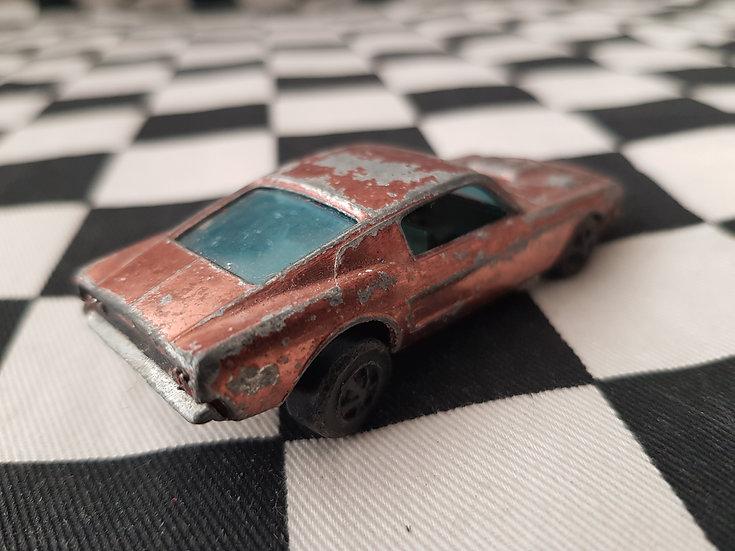 Hot Wheels Redline Custom Mustang Copper