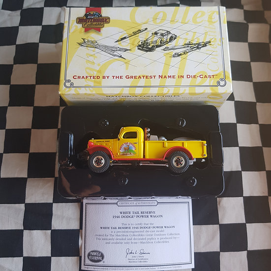 Matchbox Collectables 1:43 1946 Dodge Power Wagon Highly Detailed