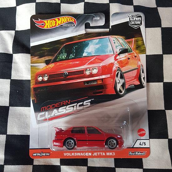 Hot Wheels Premium Modern Classics Volkswagen Jetta MK3 Red
