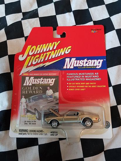Johnny Lightning Mustang Illustrated 68 Ford Mustang Shelby GT500