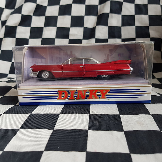 Dinky 1:43 By Matchbox Boxed 1959 Cadillac Coupe De Ville Red