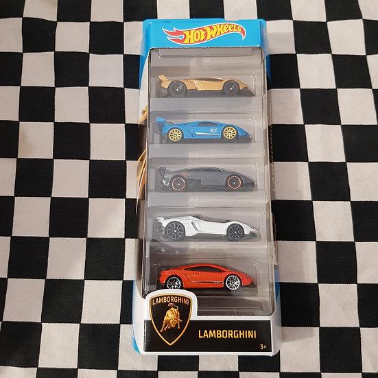 Hot Wheels 2020 Lamborghini 5 Pack