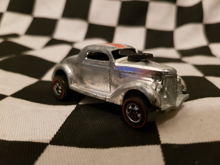 Hot Wheels Vintage Redline NEET STREETER Loose Super Chrome Ford Hotrod
