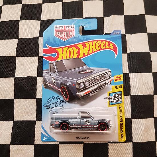 Hot Wheels 2020 speed Graphics Magnus Walker Mazda Repu  Blue/Grey