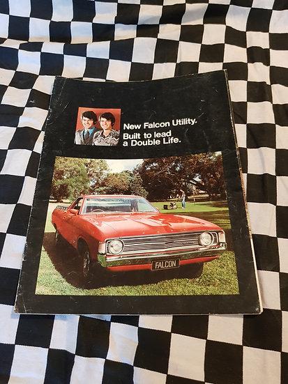 Original Ford Falcon XA Utility Sales Brochure