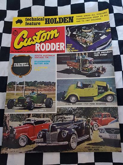Custom Rodder magazine #17 VHTF