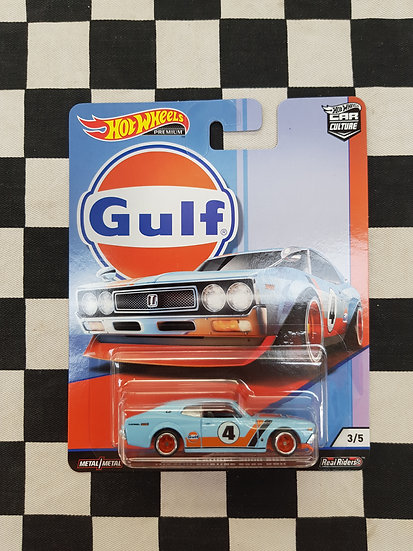Hot Wheels Car Culture Gulf Nissan Laurel 2000 SGX