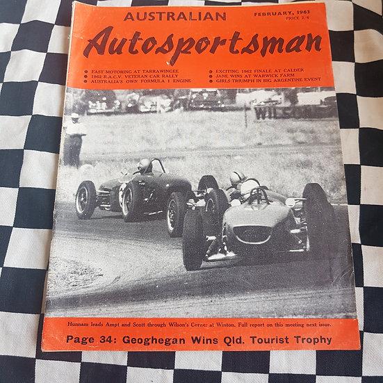 Australian Autosportsman  Feb 1963