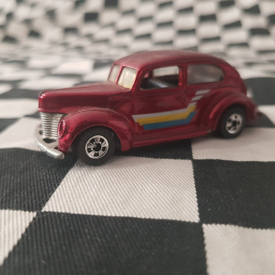 Vintage Loose Hot Wheels Blackwall 40 Ford Tudor Sedan Red