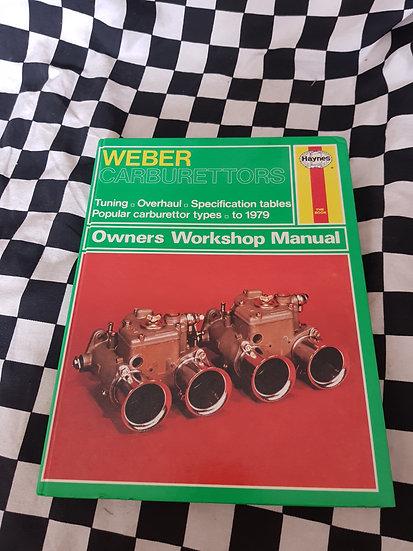 Weber Carburettors Workshop Manual