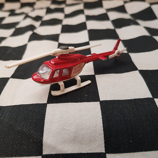 Vintage Loose Corgi DAILY PLANET Chopper Helicopter Superman
