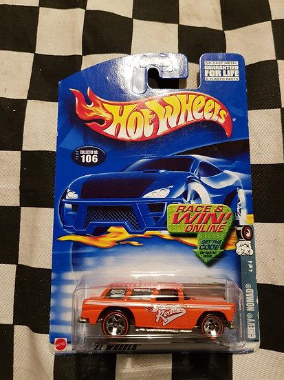 Hot Wheels 2002 REDLINES 55 Chevy Nomad