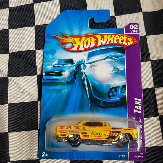 Hot Wheels 2007 Taxi Series 1955 Chevy Belair