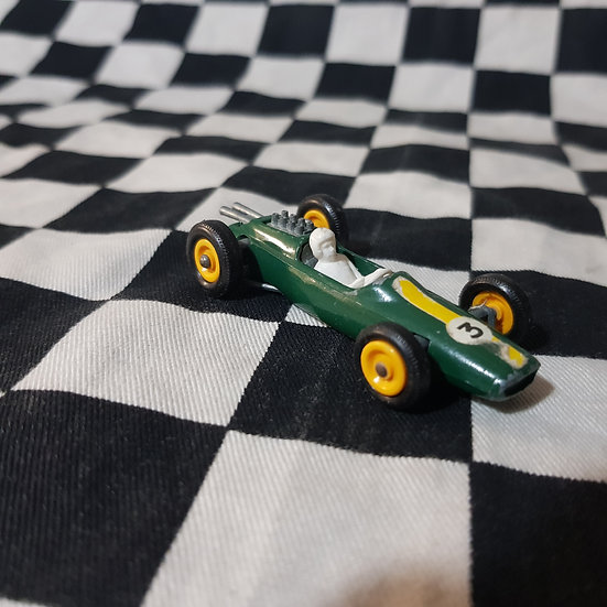 Vintage Loose  Lesney Lotus Formula One Car Green
