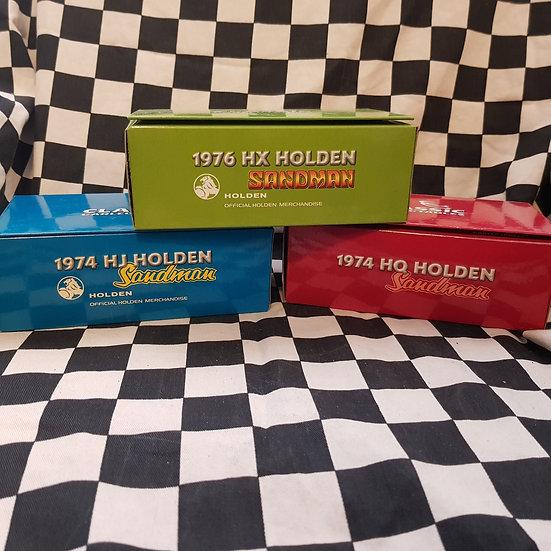Classic Carlectables 1:43 Holden Sandman Utility HQ HJ HX Choice of 3