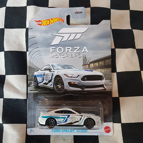 Hot Wheels Forza Motorsport Ford Shelby GT 350 Mustang