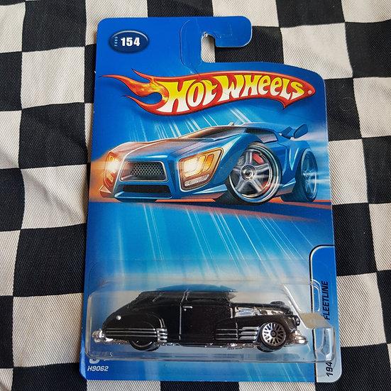 Hot Wheels 2005 1947 Chevy Fleetline Black Bomba Lowrider