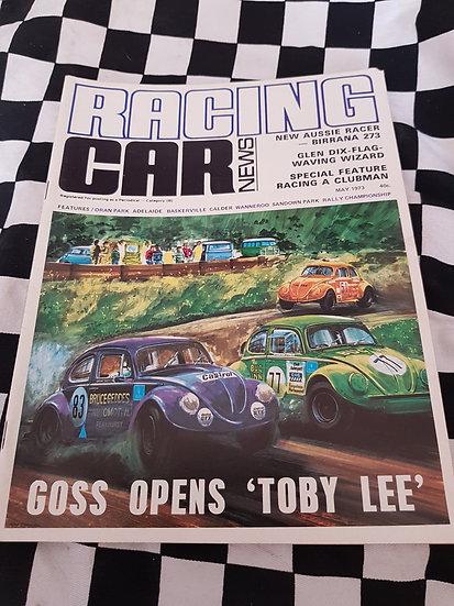RACING CAR NEWS 5/73 VW