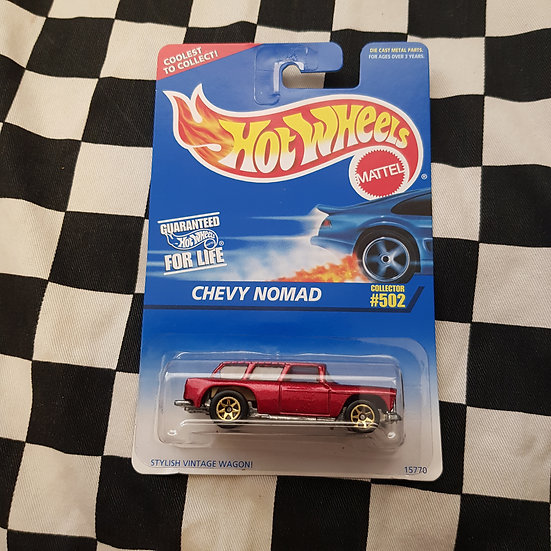 Hot Wheels 1995 #502 Chevy Nomad