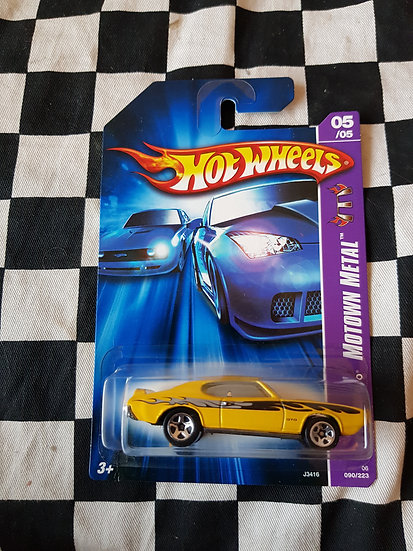 Hot wheels 2007 Motown Metal 69 Pontiac GTO