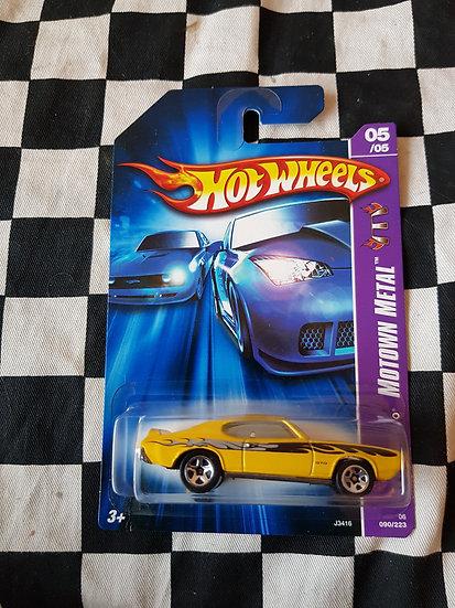 Hot wheels 2007 Motown Metal 69 Pontiac GTO