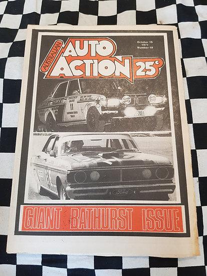 Australian Auto Action Magazine #18 Oct 15 1971