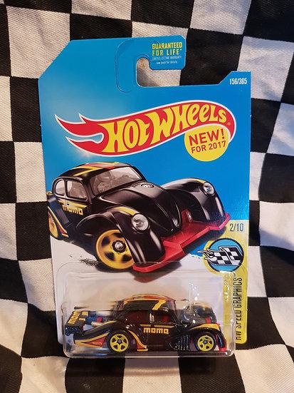Hotwheels Volkswagen Kafer Racer VHTF Black