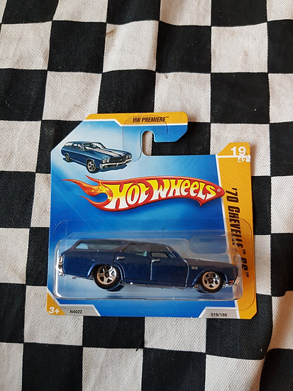 Hot Wheels 2009 First Editions 1970 Chevelle SS Wagon