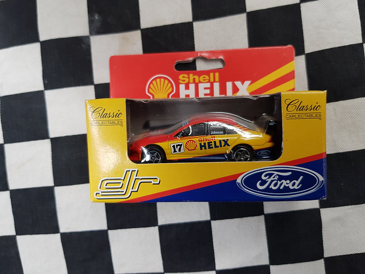 Classic Carlectables Dick Johnson Shell Helix racing Au Falcon 64009